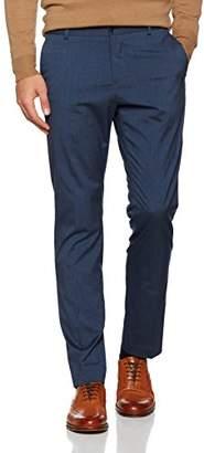 Selected Men's SHDNEWONE-MYLOLOGAN1 Blue Trouser NOOS Suit, Grey (Medium Melange), (Size: 106)