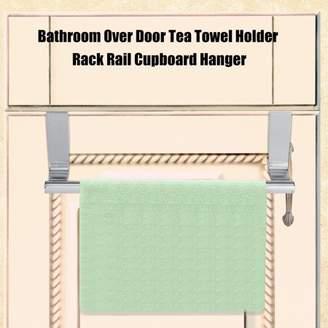 Louis Vuitton life Cabinet Drawer Towel Hanging Rack Storage Holder Over Door Hanger Kitchen Bathroom,Kitchen hanging rack, Towel hanger