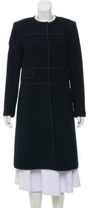 Lafayette 148 Knee-Length Wool Coat
