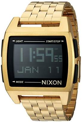 Nixon Men's 'Base' Digital Module Stainless Steel Casual Watch