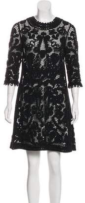 Christian Dior Crochet Wool Dress