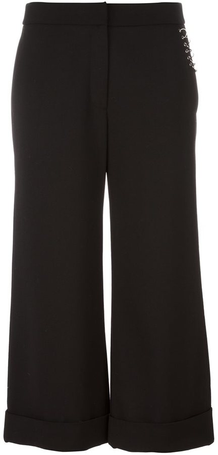 Alexander Wang Alexander Wang ring detailed cropped trousers