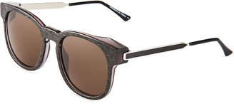 Thierry Lasry Authority 816G Plastic/Metal Round Sunglasses
