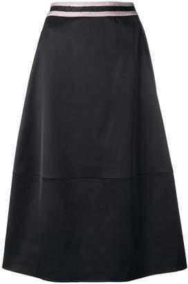 Luisa Cerano high waist A-line skirt