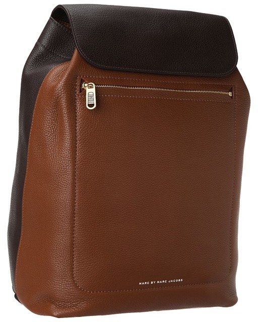 Marc by Marc Jacobs Slice and Dice Backpack (Cacao Multi) - Bags and Luggage