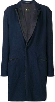 Y's classic single-breasted coat