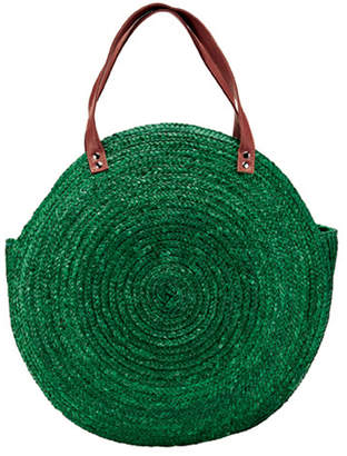 San Diego Hat Company Rounded Straw Bag
