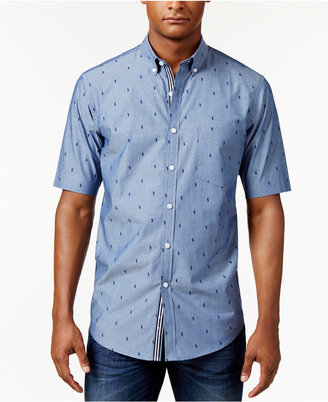 Club Room Men's Seahorse-Print Shirt, Only at Macy's $49.50 thestylecure.com