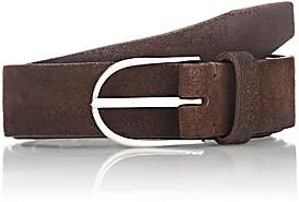 Felisi Men's Brushed Suede Belt - Dk. brown