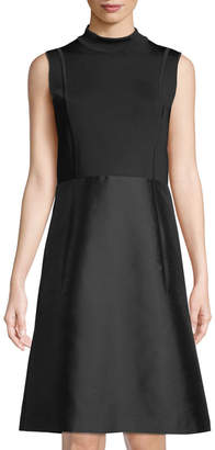 Lafayette 148 New York Indra Knit-Top A-Line Dress