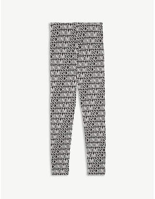 Moschino Logo cotton-blend leggings 4-14 years