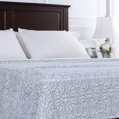 Berkshire Blanket® VelvetLoft® Floral Twin Blanket in Green
