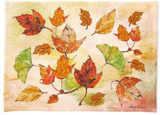 April Cornell Autumn Leaves Placemats, Set of 4