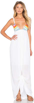 Mara Hoffman リボンフロントドレス