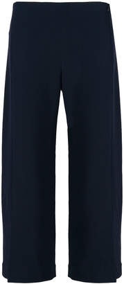 The Row slit front cropped trousers