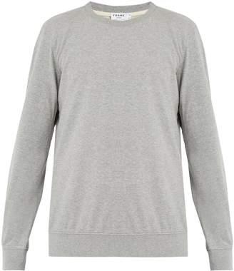 Frame Crew-neck cotton-jersey sweatshirt