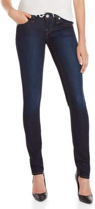 True Religion Logo Waist Super Stretch Skinny Jeans