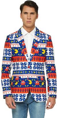 Opposuits Men's OppoSuits Pac-Man Christmas Blazer