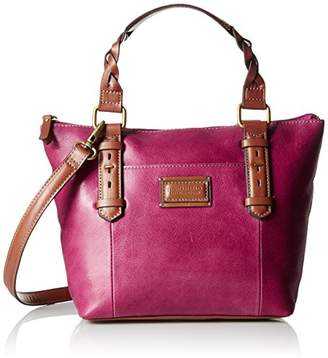 Tignanello Borough Vintage Leather Mini Tote Crossbody