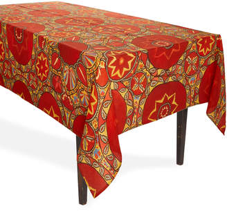 Arjumand's World Suzani Red Tablecloth