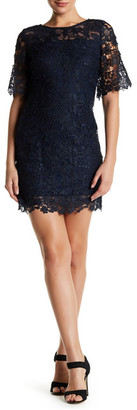 Julia Jordan Short Sleeve Embroidered Dress $188 thestylecure.com