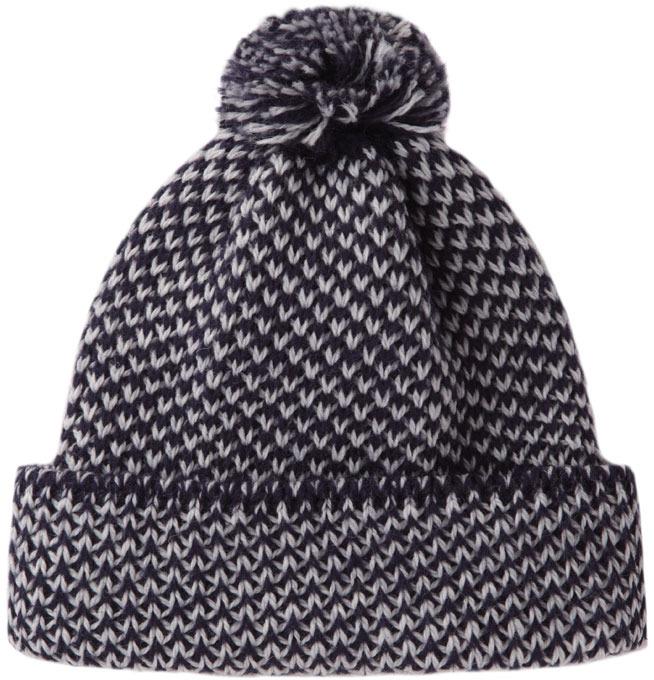 Peter Jensen diagonal stitch hat