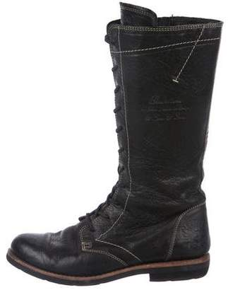 Blackstone Leather Mid-Calf Boots