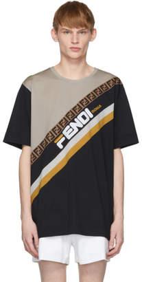 Fendi Black Mania T-Shirt