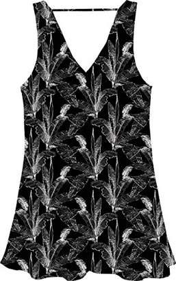 RVCA Junior's Landline a-Line Dress