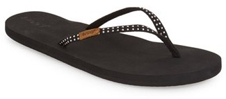 Women's Reef 'Slim Ginger' Studded Flip Flop $35.95 thestylecure.com