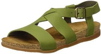 El Naturalista Women's NF46 Soft Grain Zumaia Flat Sandal