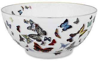 Christian Lacroix by Vista Alegre Butterfly Porcelain Salad Bowl
