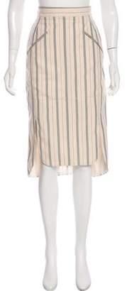 Altuzarra Striped Midi Skirt