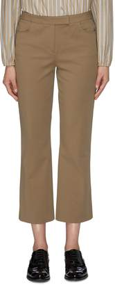 Theory Flared cropped pants