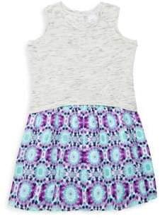 Little Girl's & Girl's Laura Fit-&-Flare Dress