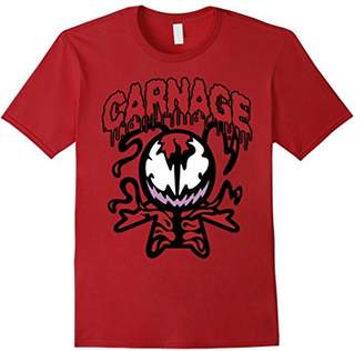 Marvel Carnage Red Kawaii Symbiote Graphic T-Shirt