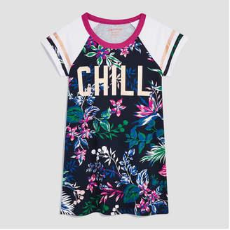 Joe Fresh Kid Girls' Short Sleeve Graphic Floral Dress