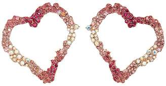 Betsey Johnson Open Gypsy Heart Earrings Earring