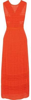 M Missoni Cutout Crochet-Knit Maxi Dress
