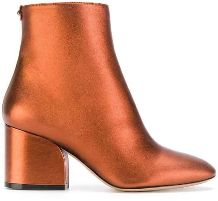 Salvatore Ferragamo Wave ankle boots