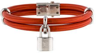 Louis Vuitton Keep It Twice Bracelet $245 thestylecure.com