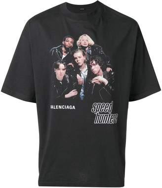 Balenciaga (バレンシアガ) - Balenciaga Speedhunters Boysband プリント Tシャツ