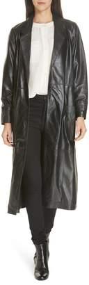Smythe Leather Trench Coat