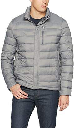Kenneth Cole New York Men's Packable Jacket with Chest Zipper