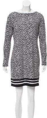MICHAEL Michael Kors Long Sleeve Printed Dress w/ Tags