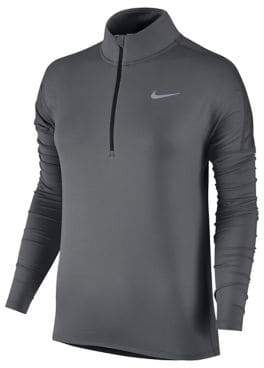 Nike Long-Sleeve Mesh Sports Top