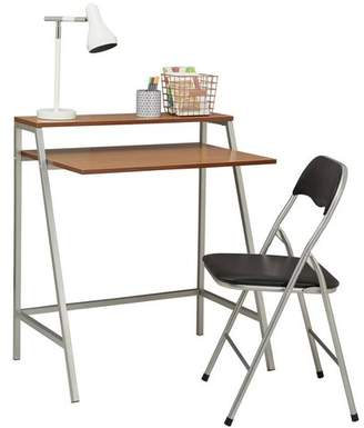 Argos Home Office Desk and Chair Set - Black