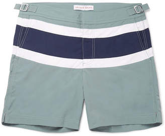 Orlebar Brown Bulldog Mid-Length Panelled Swim Shorts
