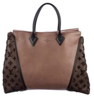Louis Vuitton Monogram Velours W GM Tote