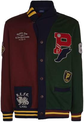 Polo Ralph Lauren Patched Cardigan